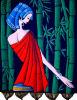 Девушка Батик-Бамбука (BT100025)