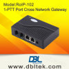 Radio Over IP Cross-Rede Gateway VoIP RoIP-102