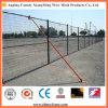 Poudre Spraying Temporary Wire Mesh Fencing avec Diagonal Brace