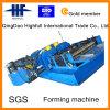 Le chemin de câbles en acier galvanisé automatique laminent à froid former la machine