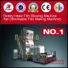 HDPE LDPE de Plastic Roterende Blazende Machine van de Film van de Laag