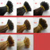 8A 브라질 Virgin Human 이탈리아 Glue I TIP Hair Extension
