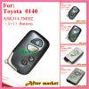 Chave 0140 esperta com 4 teclas Ask314.3MHz ID71 Wd03 Wd04 Camry Reiz Pardo para Lexus