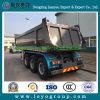 半3つの車軸容器の貨物ダンプトラックのトレーラー
