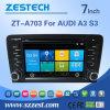 GPS van de Auto DVD van Zestech Video voor Audi A3/S3
