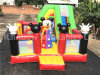 Ratón feliz modificado para requisitos particulares Funcity inflable/Moonwalk para los niños