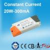 300mA 20W konstante Stromversorgung des Bargeld-LED mit GS-CB