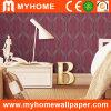Papier peint rouge de décor à la maison moderne (DST89027)