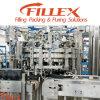 Máquina de rellenar del casquillo del jugo de aluminio de la botella de cristal (RFC-H)
