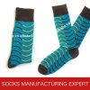 Высокое качество носка отдыха хлопка гребня людей (UBM1029)