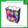 Bolsa de papel modificada para requisitos particulares colorida de la cartulina
