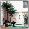 常緑の庭の装飾の人工的なココヤシの木の木