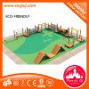 L'intero insieme di espansione di legno del campo da giuoco scherza il giocattolo di legno