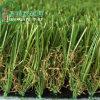 Césped artificial de la hierba de la falsificación de la decoración de la dimensión de una variable 40m m de U