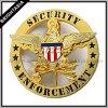 Het Kenteken van de Politie van het Kenteken van de Veiligheid van het metaal voor Naar maat gemaakt (byh-10037)