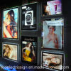 Janela Display LED Crystal Picture Frame