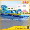 Bule High Wate Inflatabler Slides per Kid (AQ1036)