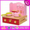 O projeto 2015 o mais atrasado que cozinha o alimento brinca a cozinha, cozinha educacional do brinquedo que cozinha o jogo do jogo, brinquedo de madeira W10c155 do cozinheiro dos miúdos do jogo DIY do papel