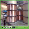 Freies Beispielangegebener CO2 Gas abgeschirmter kupferner überzogener Fluss-Stahl-Schweißens-Draht Er70s-6