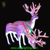Decoração do diodo emissor de luz da luz da rena do Natal