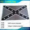 ポリエステル灰色の抑制された南部連合国旗