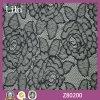 Tela bonita de nylon do laço da flor de 100%