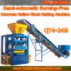 Linea di produzione idraulica semi automatica della macchina del mattone della macchina del blocco in calcestruzzo