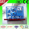 Máquina de la purificación de aceite del transformador del vacío con las etapas dobles