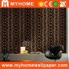 Beau papier de mur noir de vinyle avec la pente élevée (YS-190205)
