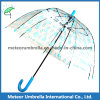 돔 Children Bubble Umbrella 또는 Clear PVC Transparent Plastic Umbrella
