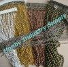 Cortina de cortina de grânulos de metal com grânulos de rolo de tamanho livre