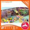 De binnen Materiële Apparatuur van de Speelplaats van het Staal Frame+Wood+PVC van de Speelplaats Plastic