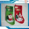 Calcetín promocional de la Navidad del bulto de la venta al por mayor de la decoración de Chirstmas del padre del surtidor