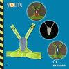 Vestes reflexivas do diodo emissor de luz com CE En13356 para a veste da segurança de /Reflective do esporte
