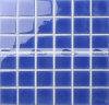 mosaico esmaltado crujido azul marino de la piscina de 48X48m m Simming (BCK645)