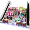Campo da giuoco del giocattolo dei bambini di tema della caramella