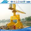 Guindaste portuário hidráulico móvel montado trilho