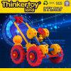 Brinquedos plásticos da instrução do bloco de apartamentos do brinquedo das crianças