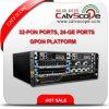 Les ports de la haute performance 32-Pon, 24-Ge met en communication la plate-forme de Gpon