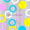 o círculo de cor 100%Polyester Pigment&Disperse imprimiu a tela para o jogo do fundamento