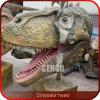 Tête d'intérieur de dinosaur de tenture de décoration de cour de jeu