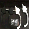 熱い販売の高品質の白いアルミ合金のペンキの表面のスクリーンWindowsのためのアルミニウムハンドルロック
