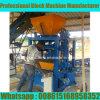 Qt4-24 vibrou o bloco que faz a máquina