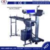 machine de gravure chaude de laser de pipe de douille de fonte de PE noir de 20W 30W 50W