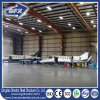 La casa prefabricada de acero del metal de la certificación del SGS de la ISO/prefabricó kits del hangar del aeroplano