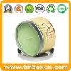 Metallduftender Kerze-Zinn-Kasten für Arbeitsweg