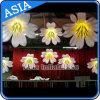 Décoration de Fatanstic Wedding les fleurs gonflables/arrêtant la fleur gonflable avec la DEL pour la fleur gonflable d'usager/éclairage