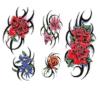 Стикеры Tattoo модного тела цветка водоустойчивые временно