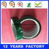 cinta verde de enmascarado da alta temperatura del animal doméstico de 0.05m m