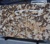 Grote Abstracte Beeldhouw het Schilderen Lanscape Veelkleurige Bruine Marmeren Plak